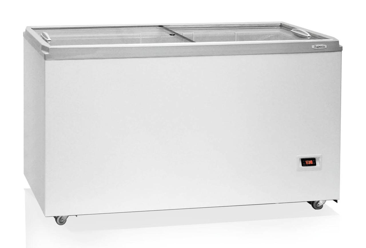 Морозильный ларь Бирюса-455VDZY (794*1500*632 мм) прямая стеклянная крышка