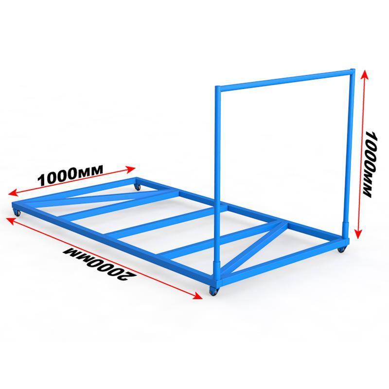 Тележка для перевозки гимнастических матов