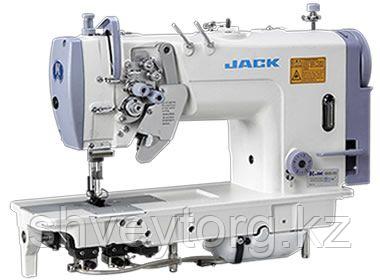 Двухигольная швейная машина челночного стежка JACK JK-58750B-005C