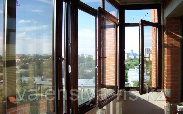ремонт балконной двери и окон на балконе