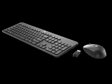 HP беспроводная клавиатура и мышь комплект slim  (N3R88A6)