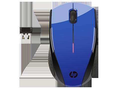 HP N4G63AA Беспроводная мышь X3000 (кобальтово-синяя)
