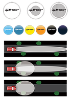 Светофильтр LIGHTFORCE (240мм) (синий)