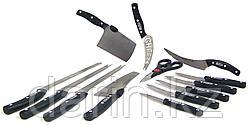 Ножи в наборе Mibacle blade. 12 Ножей. Ножницы.
