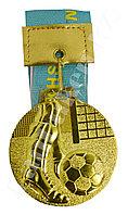 Медаль рельефная ФУТБОЛ (золото)