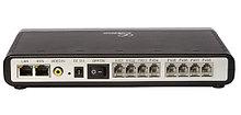 Grandstream GXW4108 IP шлюз 8xFXO, 1xLAN, 1xWAN, 100Mbit/s