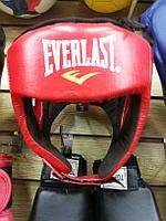 Кожаный шлем для бокса Everlast