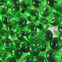 Бисер Drops 5/0 (~4,5мм) (50120) прозрачный, 50гр Preciosa