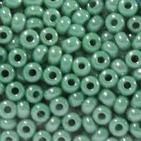 Бисер непрозрачный с покрытием 10/0 (68130), круг.отв., 50гр Preciosa