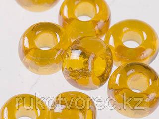 Бисер прозрачный с жемчужным покрытием 10/0 (86060), круг.отв., 50гр Preciosa