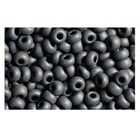 331-19001-10/0-23980 Бисер непрозрачный черный матовый 10/0 круг.отв., 20гр Preciosa