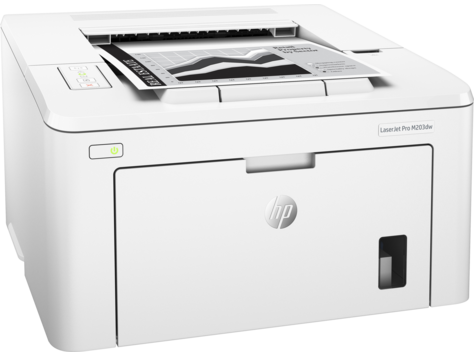 HP G3Q47A Принтер лазерный черно-белый LaserJet Pro M203dw (A4)