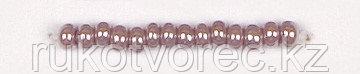 Бисер непрозрачный с жемчужным покрытием 9/0 (28020), круг. отв., 50г (Ч) Preciosa