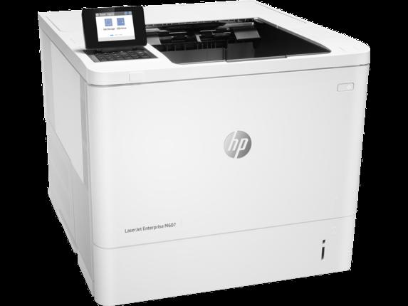 HP K0Q15A принтер лазерный черно-белый LaserJet Enterprise M607dn (A4)