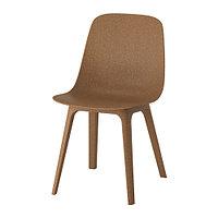 Стул ОДГЕР коричневый  ИКЕА, IKEA, фото 1