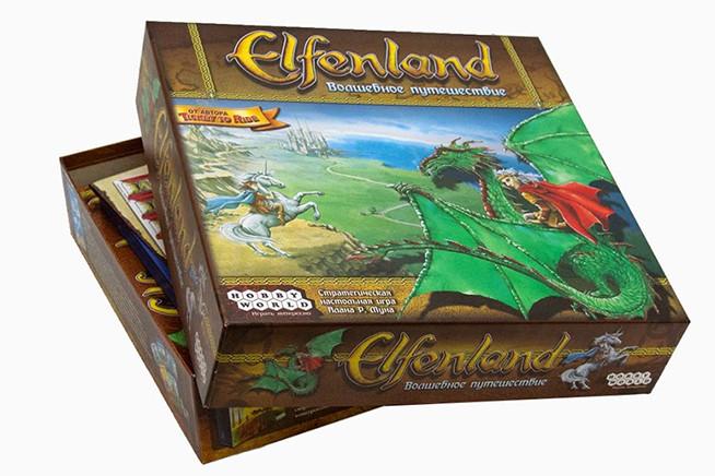Настольная игра: Elfenland. Волшебное Путешествие