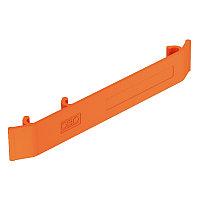 Маркировочная табличка для проволочного лотка 127x18 мм (оранж.) KS GR OR, фото 1