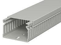 Кабель-канал перфорированный распределительный LK4 40x60x2000 мм (перфокороб) ПВХ, серый RAL7030 LK4 40060, фото 1
