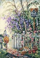"""Набор для вышивания крестом """"Калитка в сад"""""""