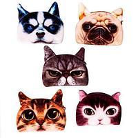 Кошелёк для мелочи с 3d принтом кошки и собаки (05)