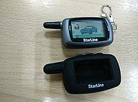 Силиконовый чехол на брелок Starline A9/ A8/ A6/ A4/ 24V (Черный)