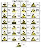 Предупреждающие знаки-(от производителя)