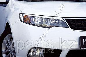 Накладки на передние фары (реснички) Kia Cerato/Киа Церато