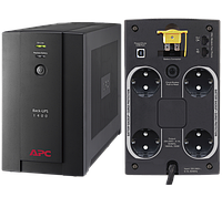 UPS APC/BX1400U-GR/Back/AVR, 4 Schuko, USB, RJ-11/1 400 VА/700 W