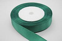 Лента атласная (зеленая 73) 20 мм. - 25 ярдов (22,8 метра)