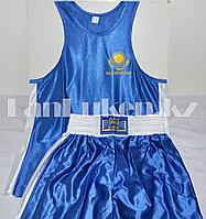 Боксерская форма GF-00157 (майка+шорты синие)
