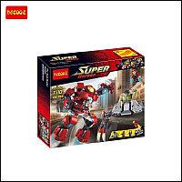 """Детский конструктор Decool """"Super Heroes"""", Железный Человек и Халк, фото 1"""