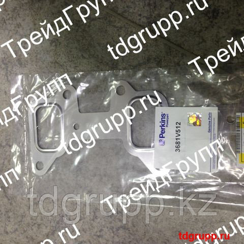 3681V512 Прокладка выпускного коллектора Perkins