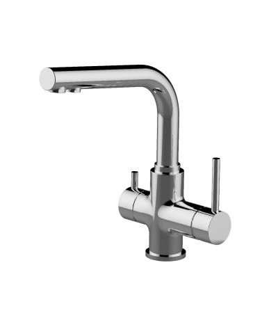 Смеситель для кухни с подключением к фильтру с питьевой водой  LeMark Серия COMFORT LM3061C