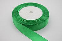 Лента атласная (зеленая (75) 20 мм. - 25 ярдов (22,8 метра)