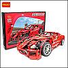 "Детский конструктор DECOOL 3333 ""Famous Car"" Ferrari 599 GTB Fiorano"