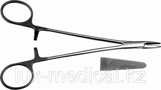 Иглодержатель общехирургический с твердосплавными пластинами
