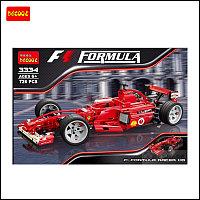 """Детский конструктор DECOOL 3334 """"Famous Car"""" F1, фото 1"""