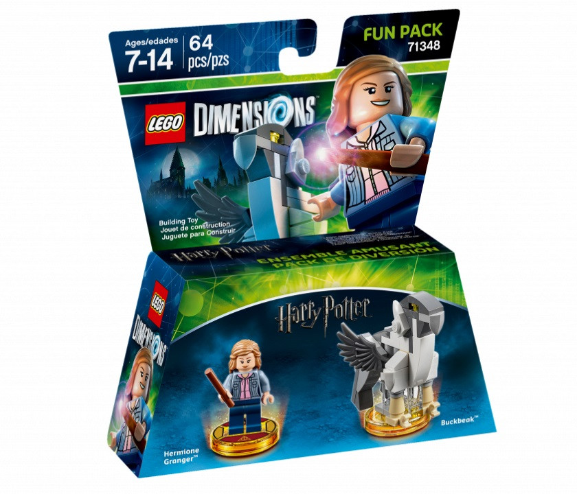 71348 Lego Dimensions Гарри Поттер: Гермиона Грейнджер (Fun Pack)