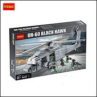 """Детский конструктор Decool """"UN-60 Black Hawk"""" 562 детали, фото 1"""