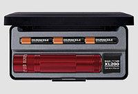 Фонарь MAGLITE LED XL200 3xAAA (172 Lum) (4737cd)(138м)(2ч30м/218ч)(красный)(в пластиковом футляре) R 34449, фото 1