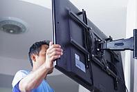 Навеска, установка телевизора на стену