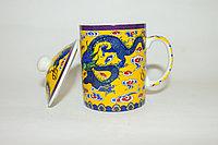 """Кружка для заваривания трав, """"Желтый дракон"""", керамика"""
