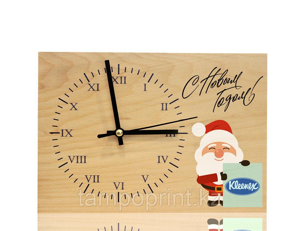 Часы деревянные DS017 (липа натуральная)