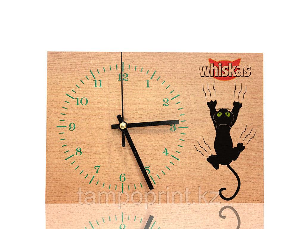 Часы деревянные DS017 (бук натуральный)