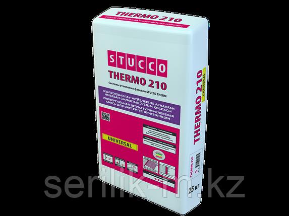 STUCCO THERMO 210 UNIVERSAL  штукатурно-клеевая смесь для систем теплоизоляции, фото 2