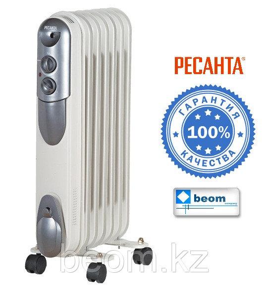 Масляный радиатор 1,5 кВт ОМПТ-7Н - фото 1