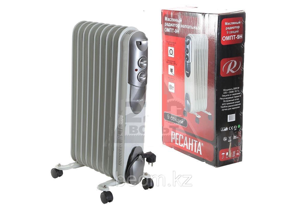 Масляный радиатор 1,5 кВт ОМПТ-7Н - фото 2