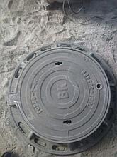 Люк чугунный, Тип Т с шарниром и замком ,круглые, ГОСТ 3634-99