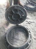Люк чугунный, Тип Т с шарниром и замком ,круглые, ГОСТ 3634-99, фото 2