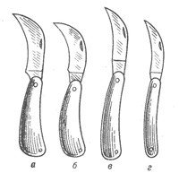 Ножи садовые